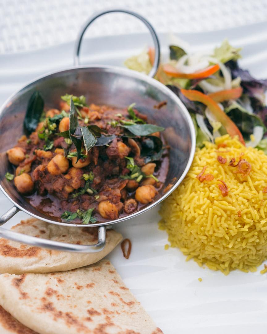 Chana masala from Mahamaya