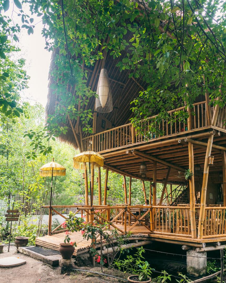 The Bamboo Restaurant at Seri Resort
