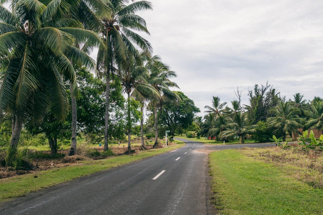 Road on Aitutaki