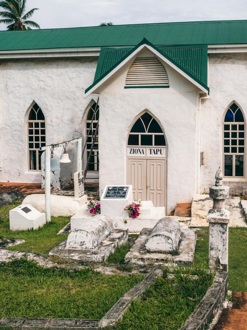 Church in Aitutaki