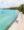 Drone shot of beach in Aitutaki