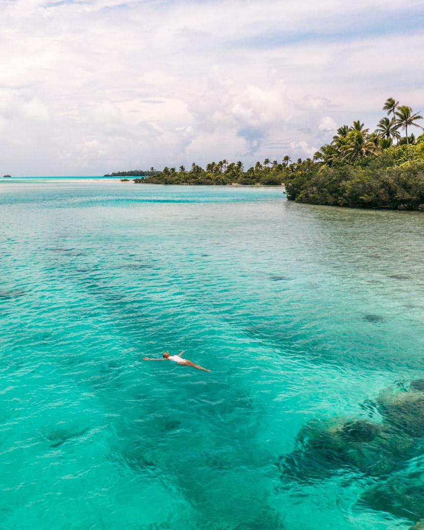 Cook Islands floating