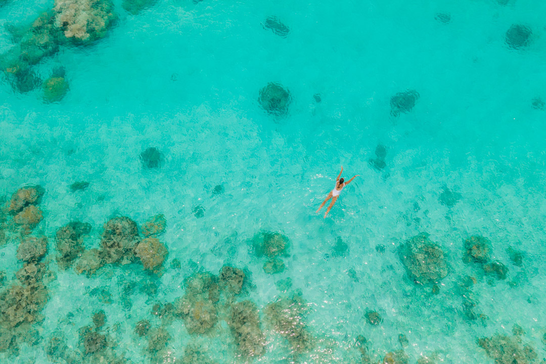 Swimming in the Cook Islands