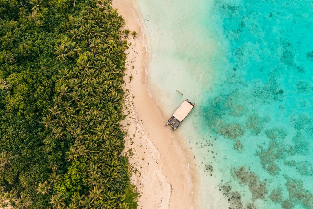 Lagoon cruise in Aitutaki