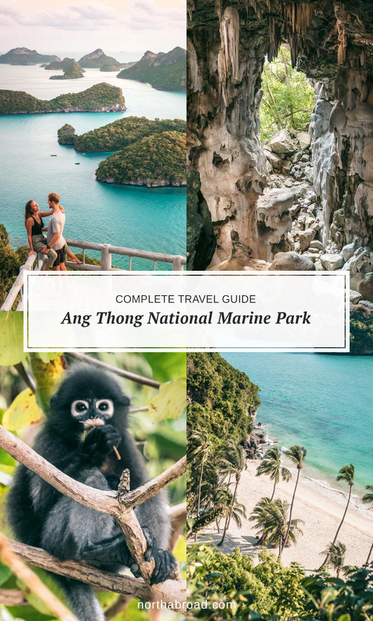 All you need to know about visiting Ang Thong in Thailand & how we stayed overnight on Koh Wua Talap in a bungalow to witness sunrise + lots of photos.