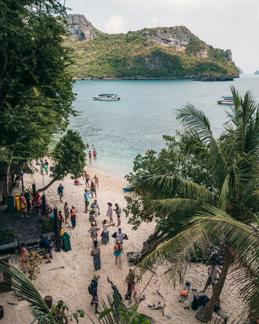 Koh Mae Ko boat tour