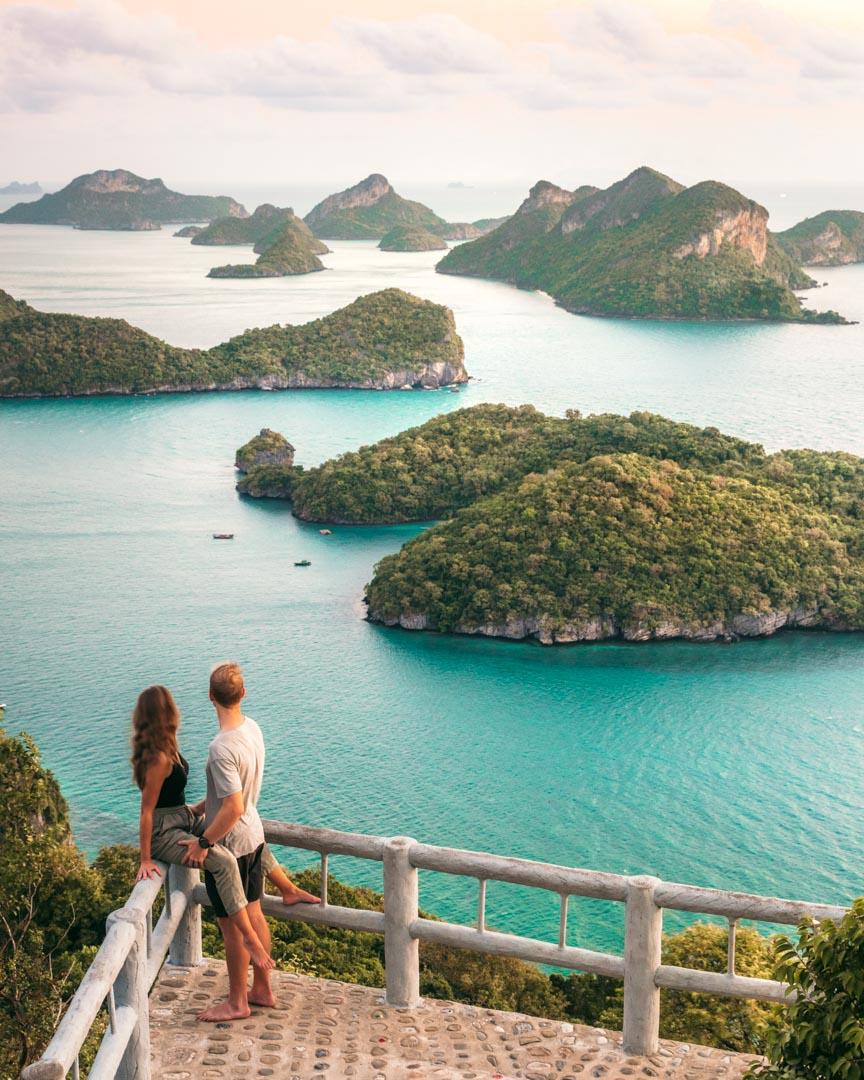 Pha Jun Jaras viewpoint couple