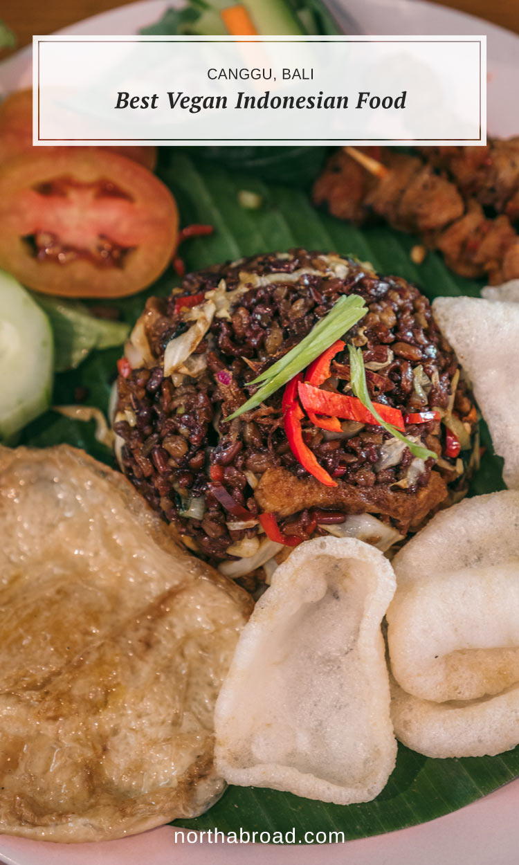 Everything you need to know about finding the most delicious Indoneisan vegan and vegetarian places in Ubud, Canggu in Indonesia.