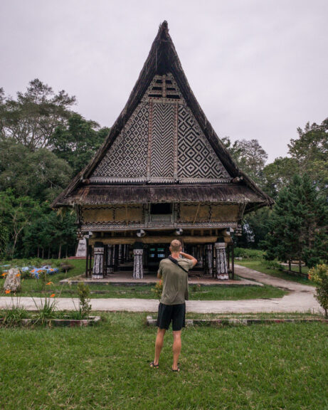 Alex in Sumatra
