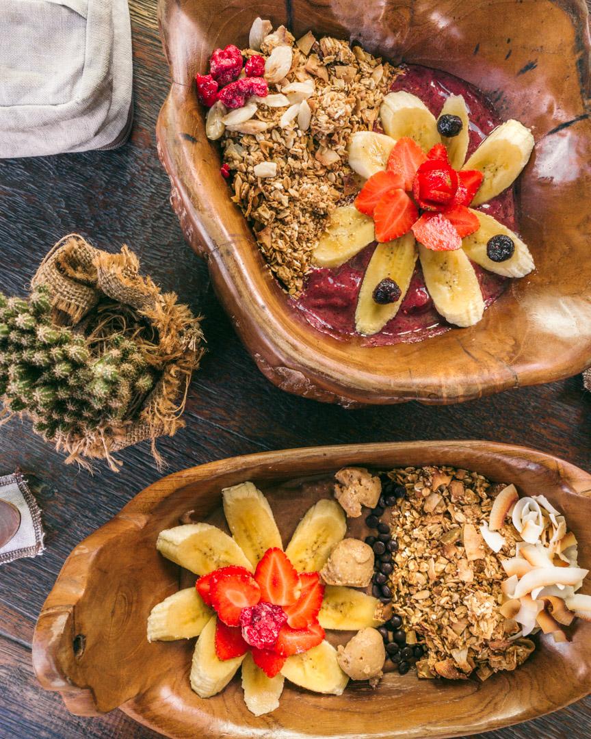 Smoothie bowls from Green Guru