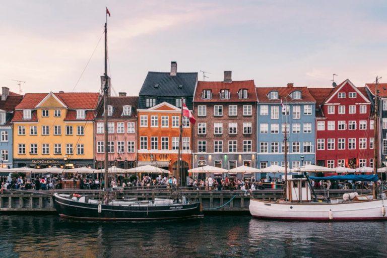 Nyhavn sunset, Copenhagen