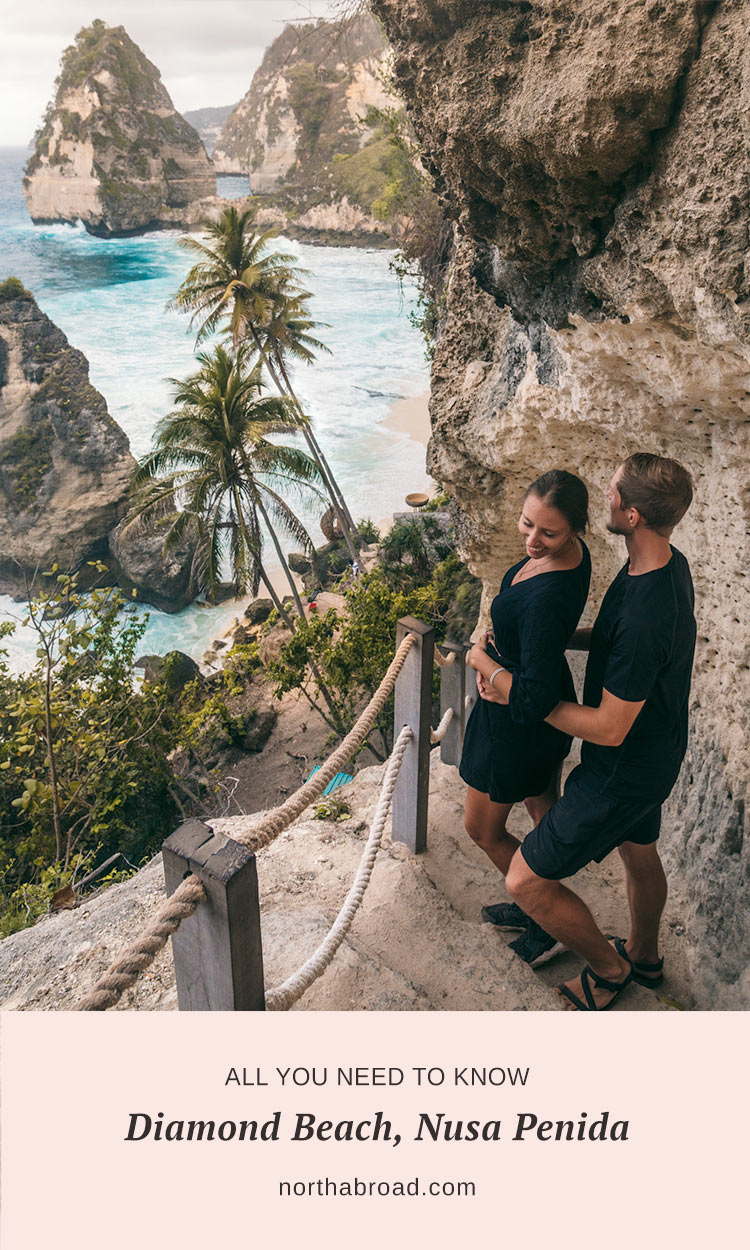 What to expect from visiting Diamond Beach on Nusa Penida including how to get there, prices and lots of photos.