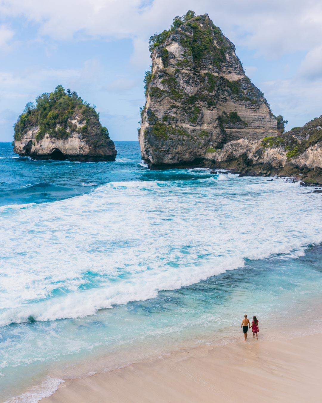 The natural beauty of Diamond Beach
