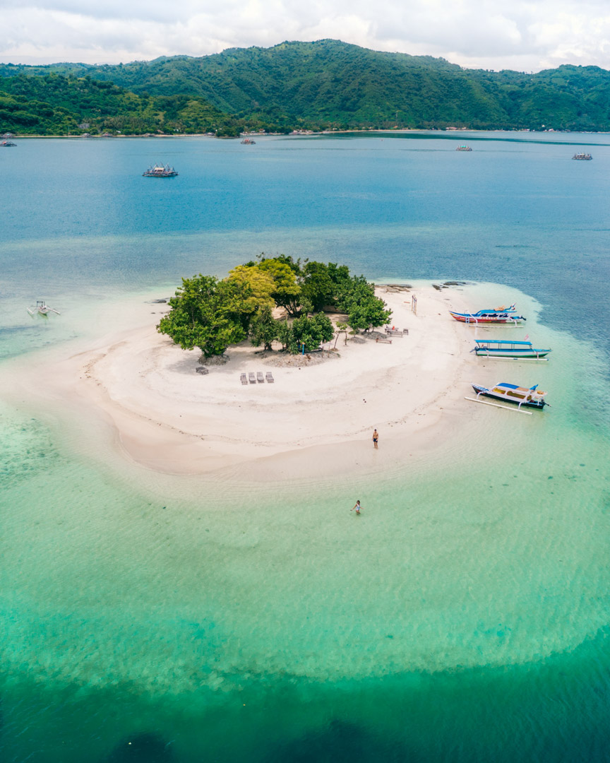 Gili Kedis near Lombok, Indonesia