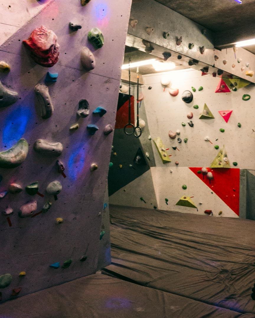 Climbing gym in Canggu