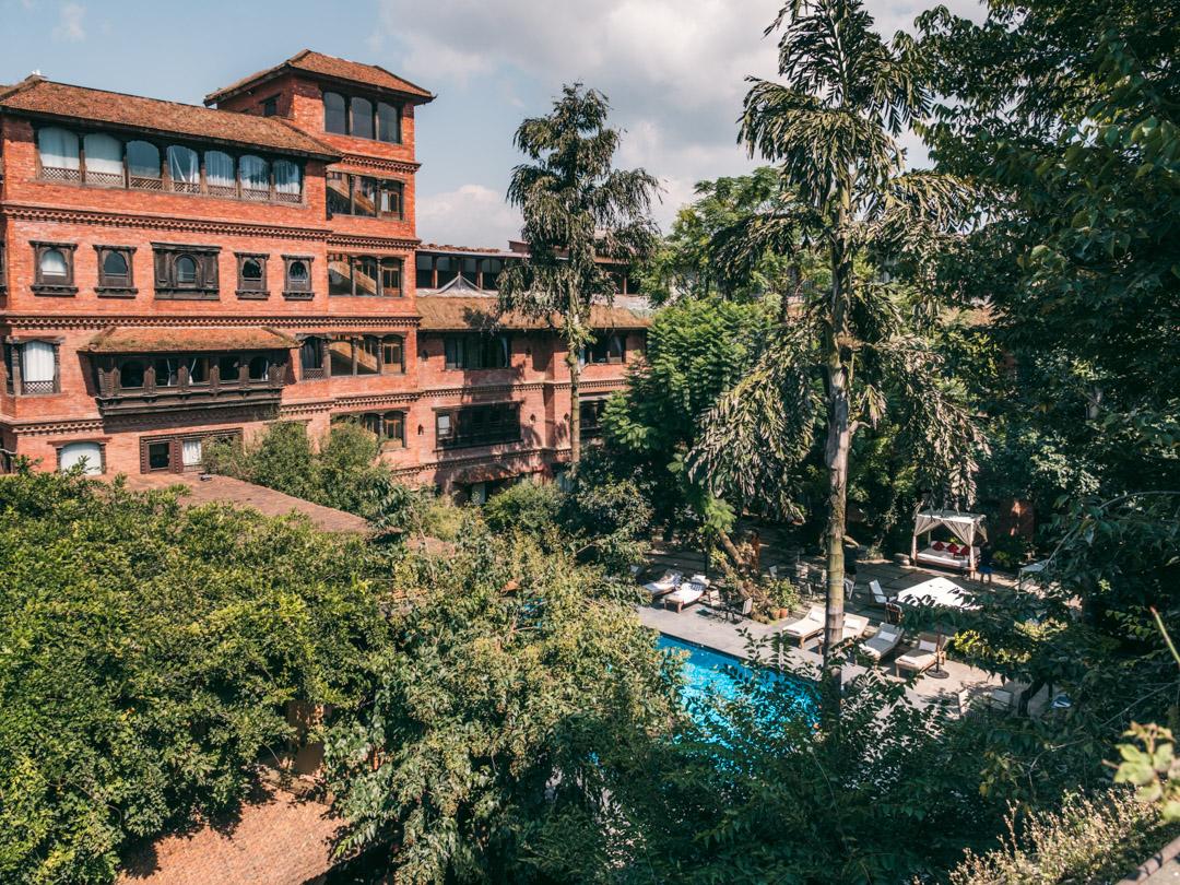 dwarikas hotel kathmandu outside