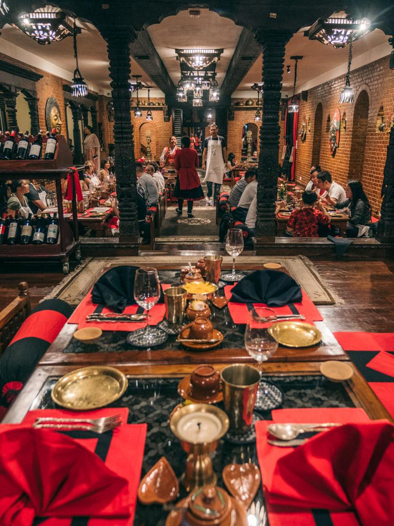 dwarikas hotel kathmandu restaurant
