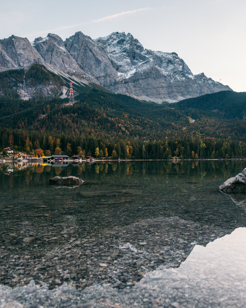 Reflections in Eibsee