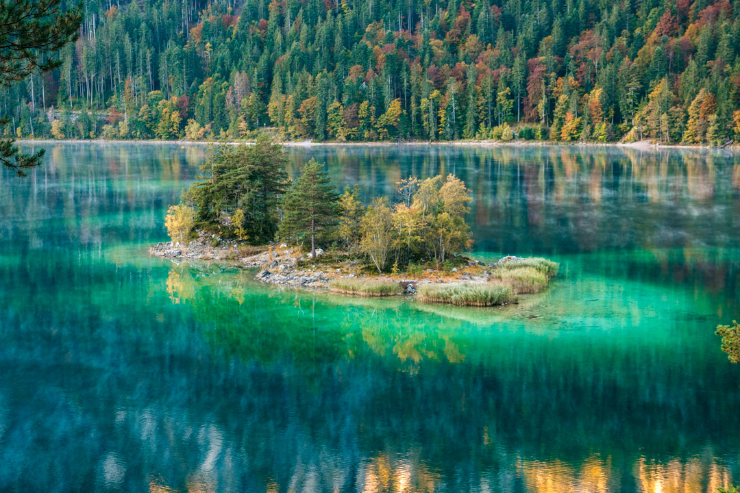 Amazing colours at Eibsee