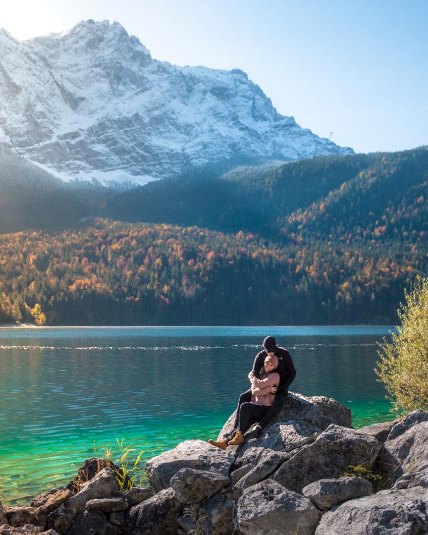 Alex & Victoria by the lake