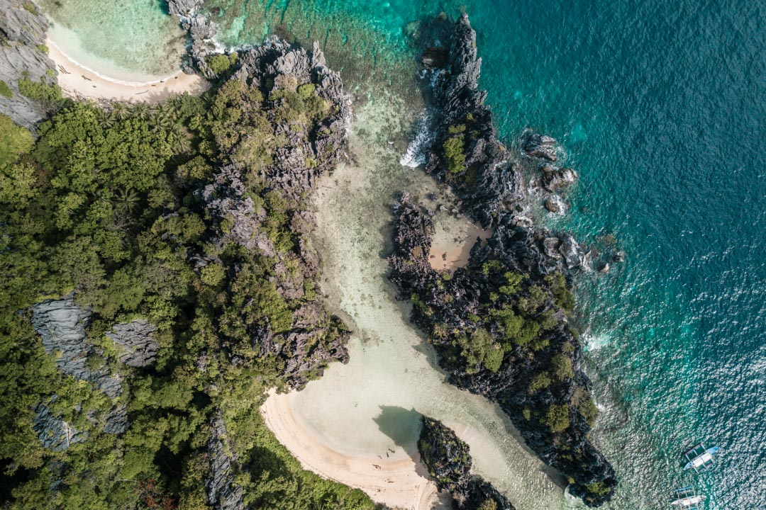 Hidden Beach aerial