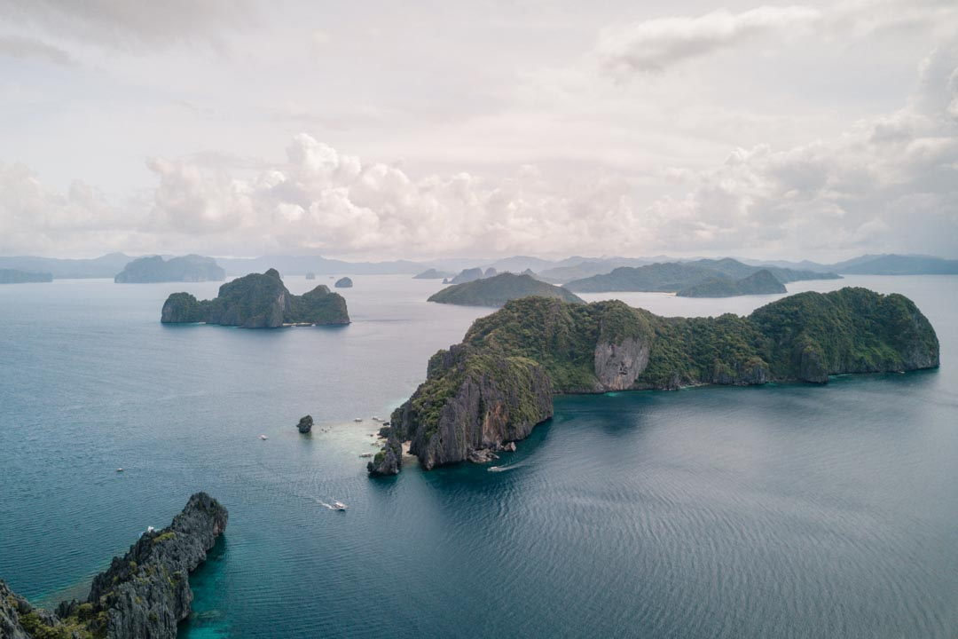 Islands near El Nido