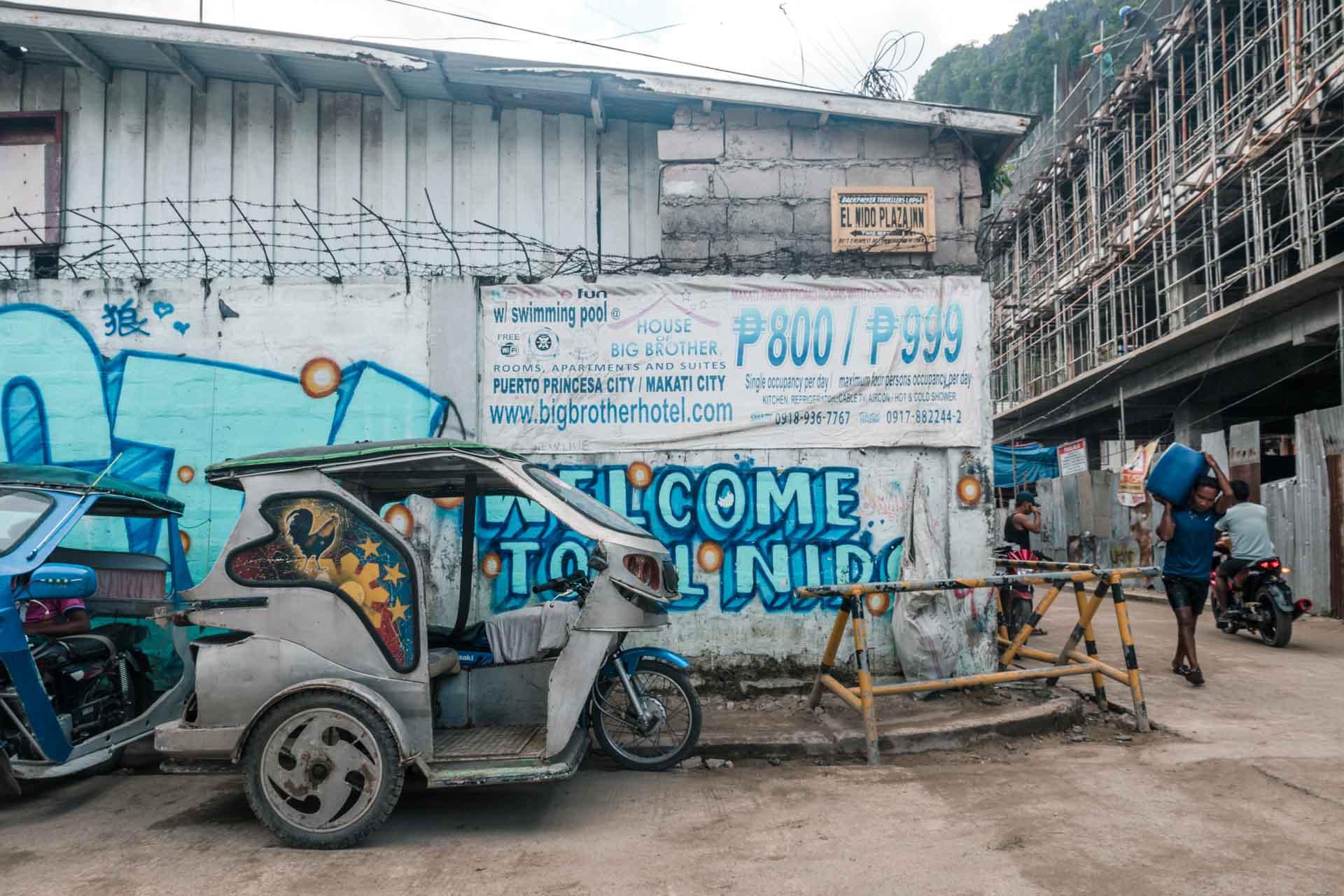 Street in El Nido Town