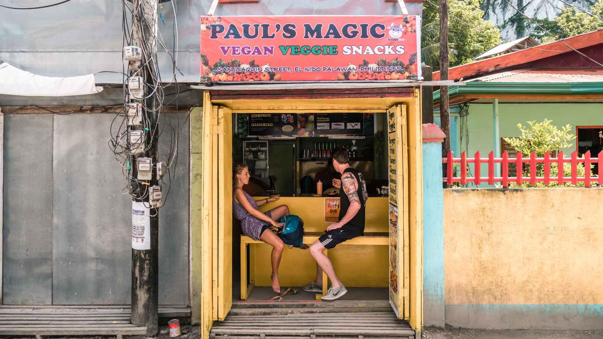 Paul's Magic in El Nido Town