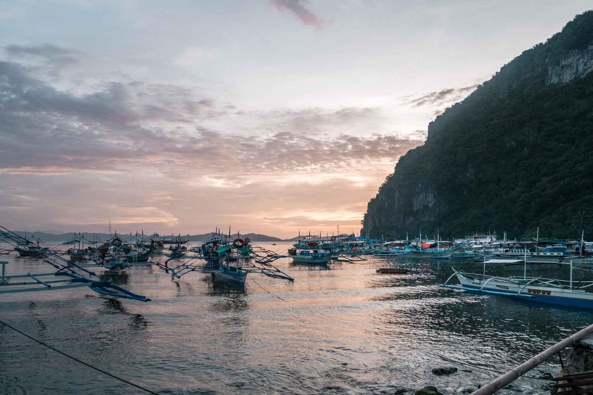 Sunset at Corong Corong
