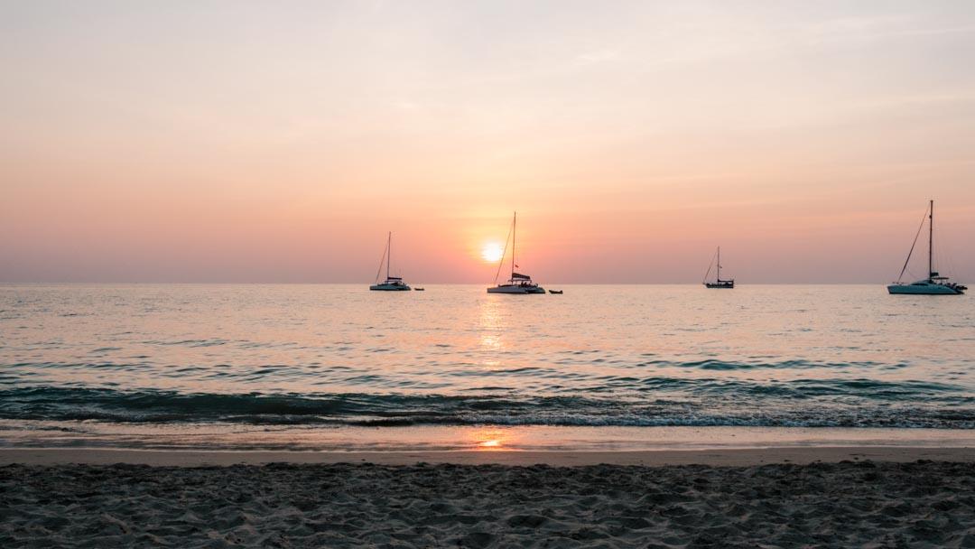 Ko Lanta, Thailand sunset