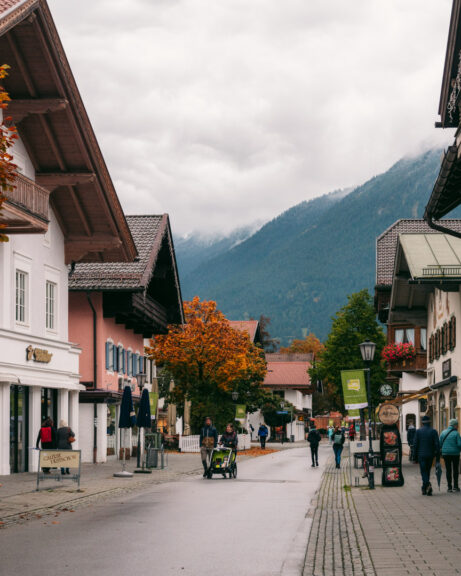 Garmisch-Partenkirchen centre