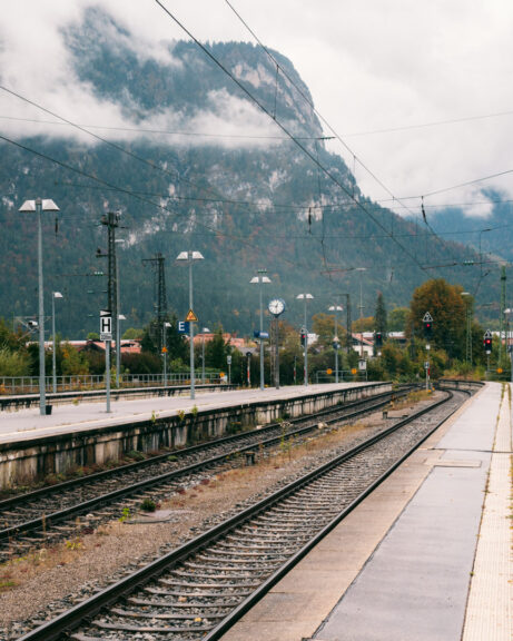 The main train station in Garmisch-Partenkirchen (Garmisch-Partenkirchen Bahnhof)