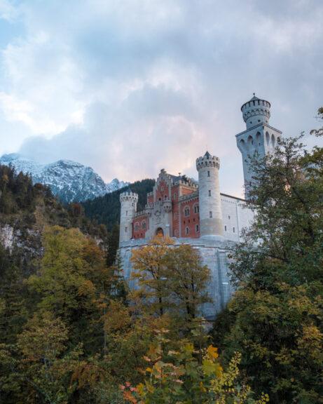 Theme park castle