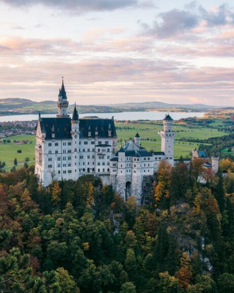 Neuschwanstein famous view