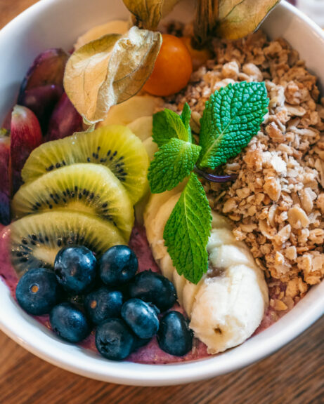 Açaí bowl at Pano