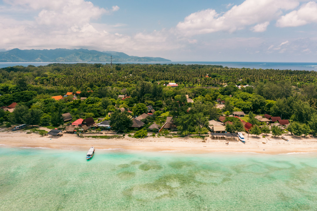 Beach on Gili Meno