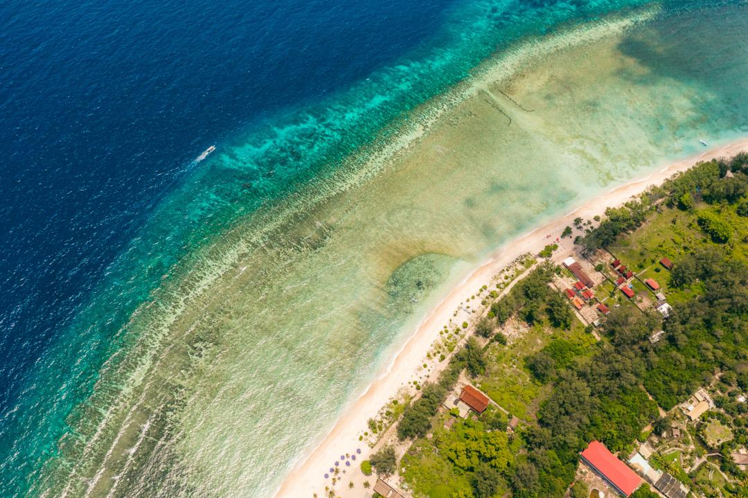 Reef around Gili Meno