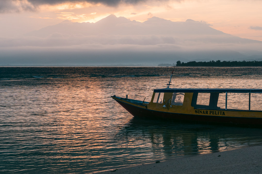 Sunrise on Gili Meno