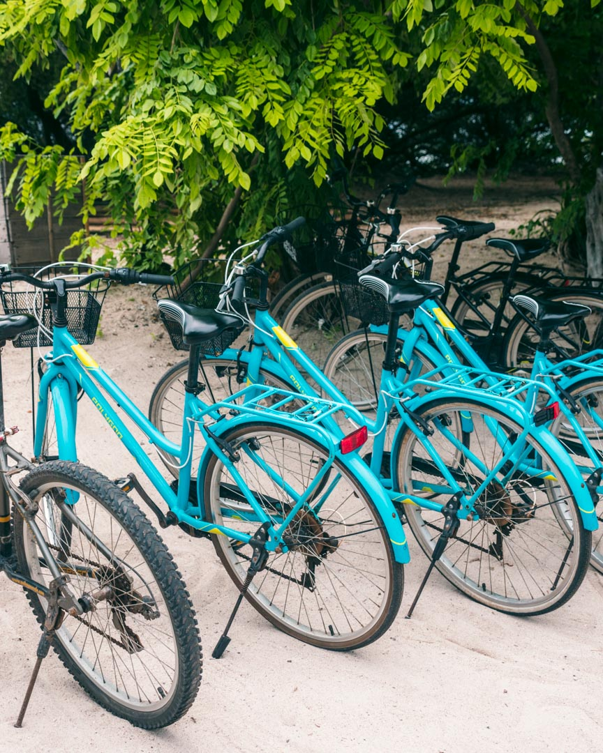 Bicycles on Gili Meno