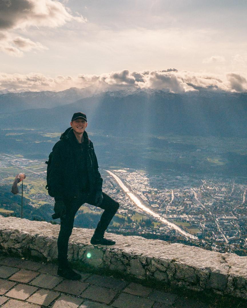 Alex in Innsbruck