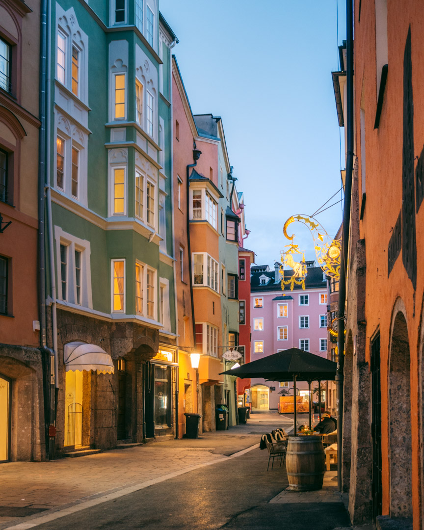 Charming Innsbruck street