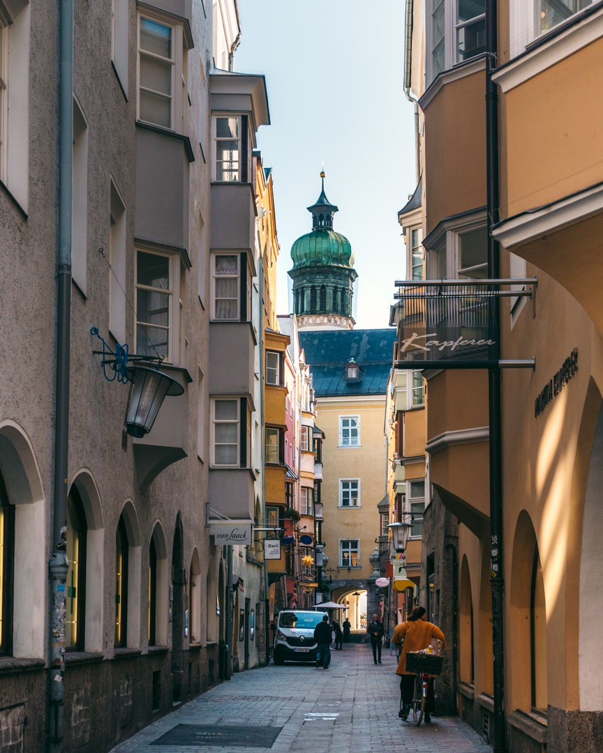 The Old Town of Innsbruck