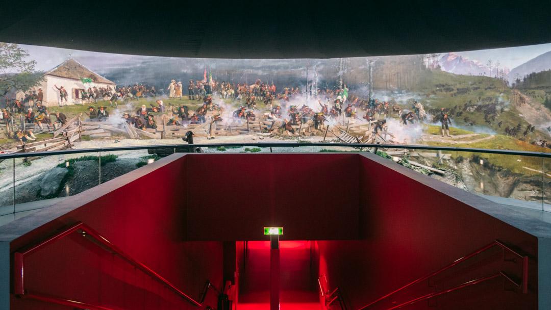 Innsbruck Giant Panorama Painting