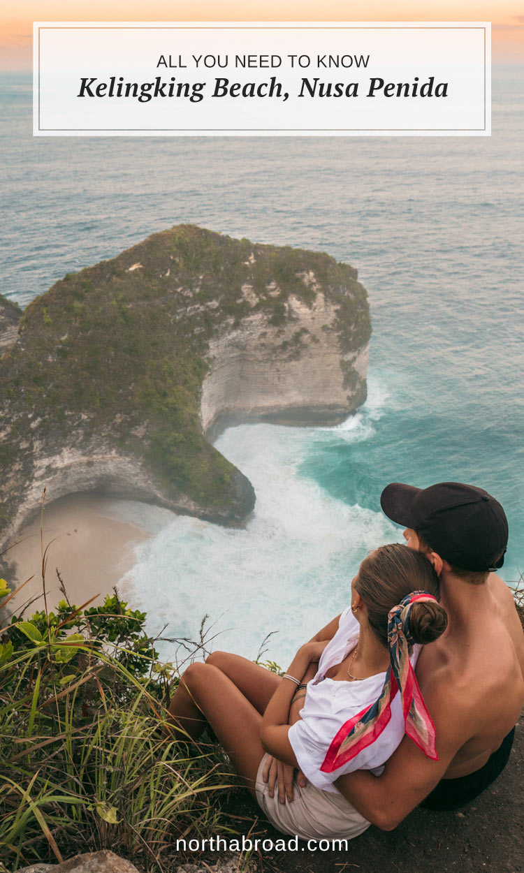 What to expect from visiting Kelingking Beach on Nusa Penida including how to get there, prices and lots of photos.
