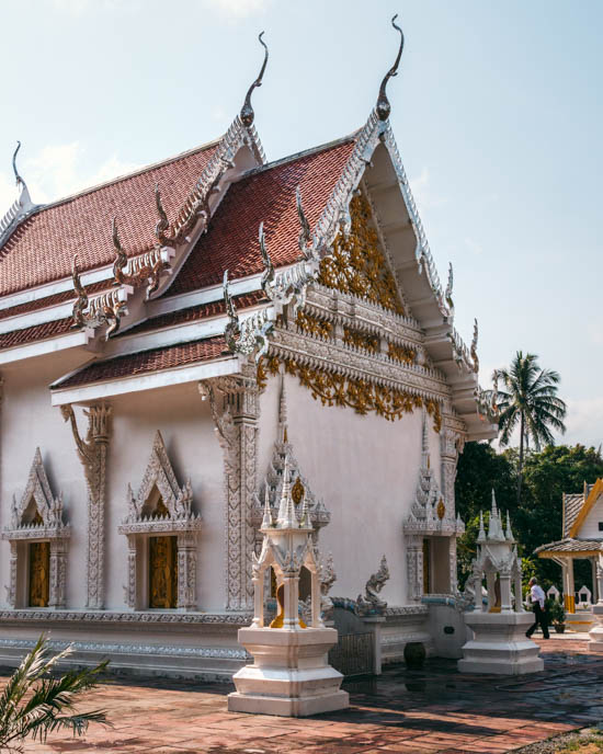 Though Phangan isn't a top temple destination in Thailand, the island still musters some pretty ones