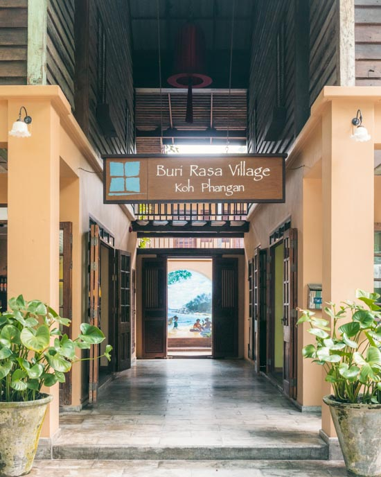 Welcome to Buri Rasa Village on Koh Phangan