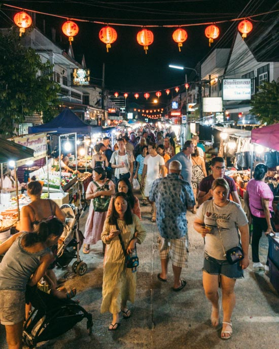 Koh Samui popular night market