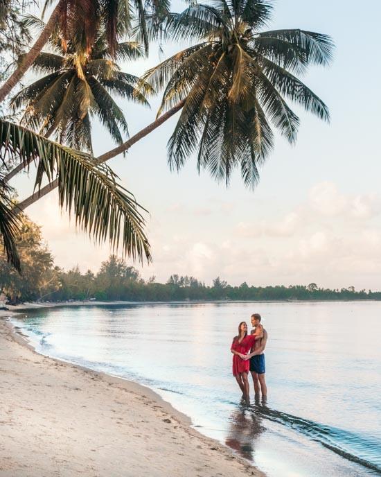Koh Samui beach Alex & Victoria