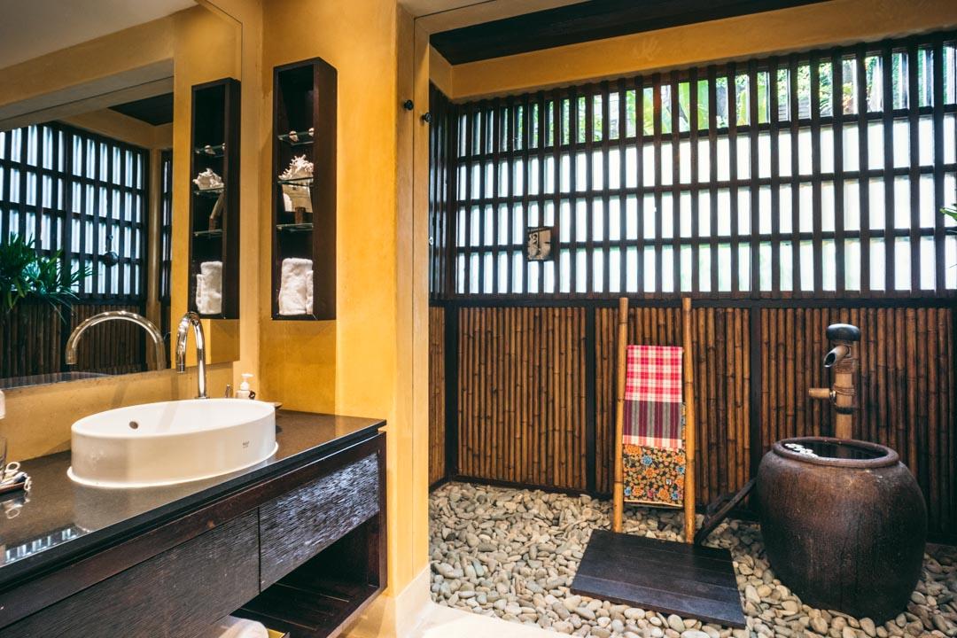 Traditional Thai bath