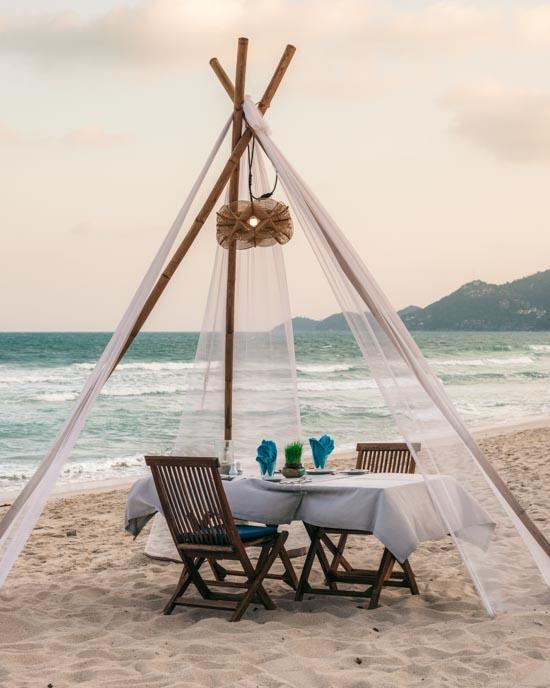 Beach sala